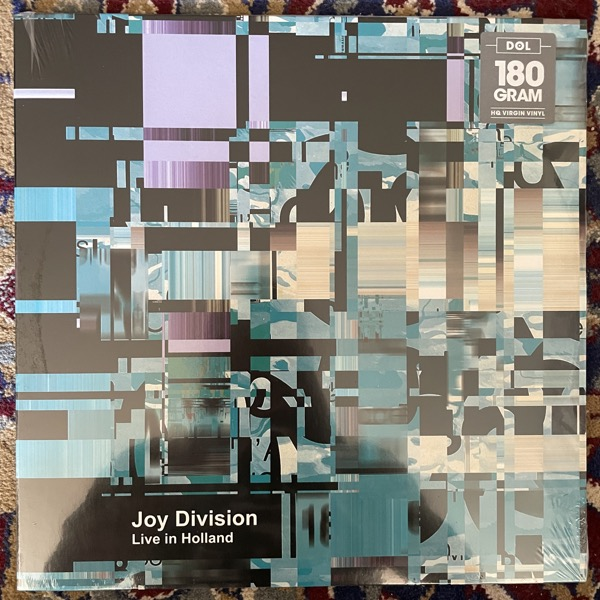 JOY DIVISION Live In Holland (DOL - Europe reissue) (SS) LP