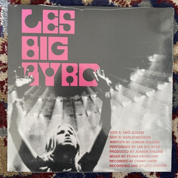 """LES BIG BYRD Snö-Golem (Pink/black vinyl) (PNKSLM - Sweden original) (SS) 7"""""""