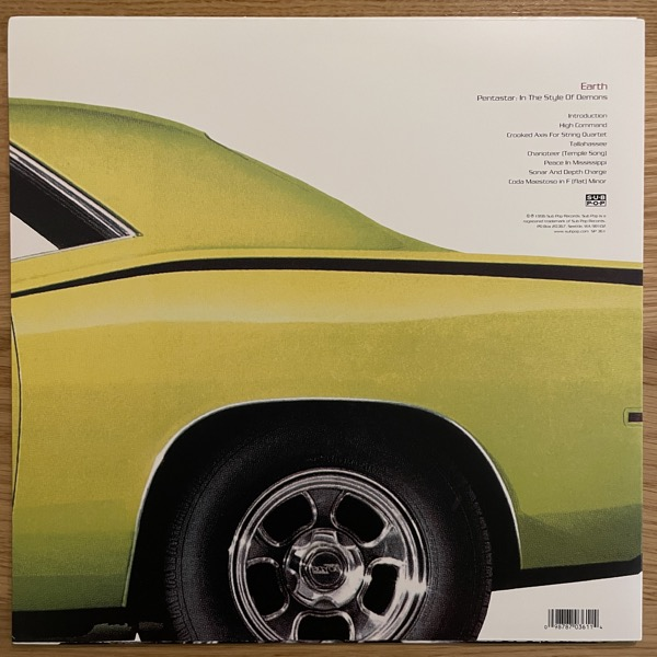 EARTH Pentastar: In The Style Of Demons (Sub Pop - USA 2006 reissue) (EX) LP