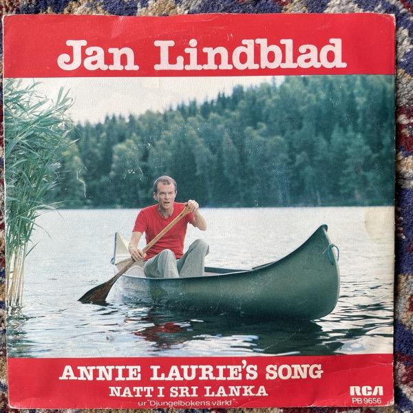"JAN LINDBLAD Annie Laurie's Song (RCA - Sweden original) (VG) 7"""