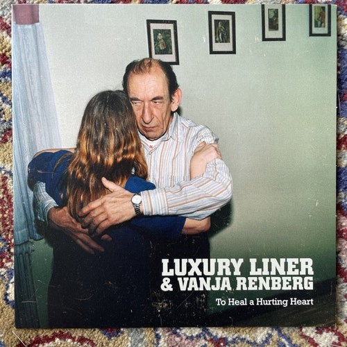 "LUXURY LINER & VANJA RENBERG To Heal A Hurting Heart (Red Rocking - Sweden original) (VG+/EX) 7"""