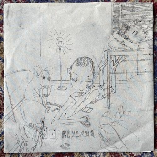 """REVLON 9 Sharks (Crushed By Heart - Sweden original) (VG+/EX) 7"""""""