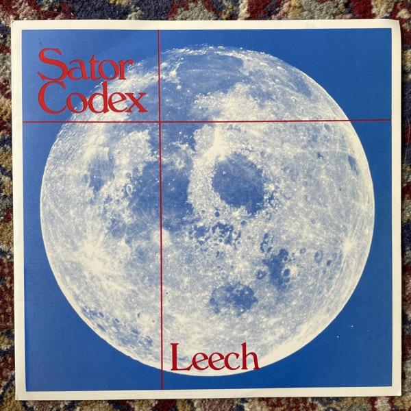 "SATOR CODEX Leech (Radium 226.05 - Sweden original) (EX) 7"""