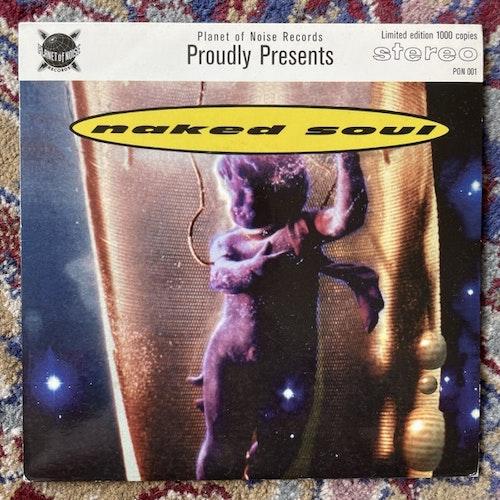 """NAKED SOUL Temptation Eyes (Planet of Noise - Sweden original) (VG+) 7"""""""