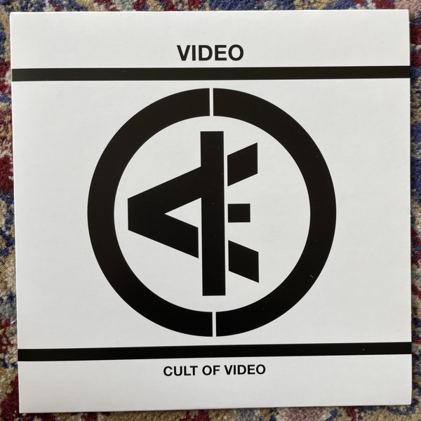 "VIDEO Cult Of Video (No Good - Germany original) (EX) 7"""