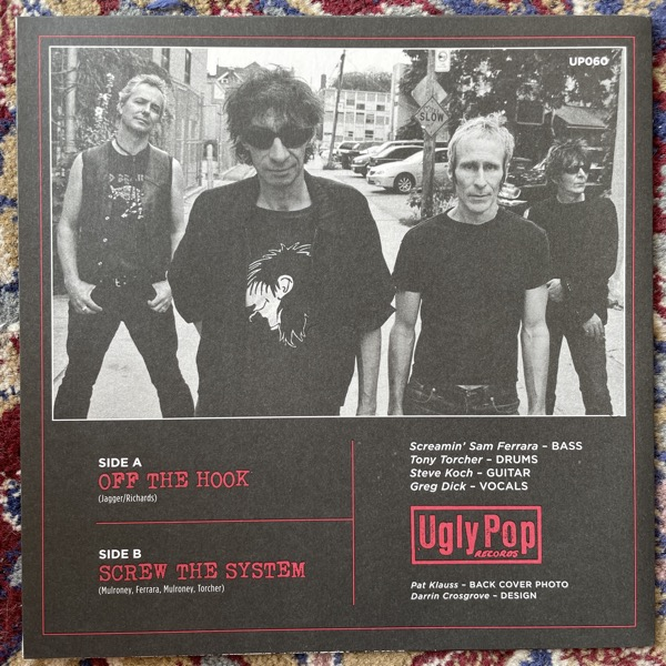 """UGLY, the Off The Hook (Ugly Pop - Canada original) (EX) 7"""""""