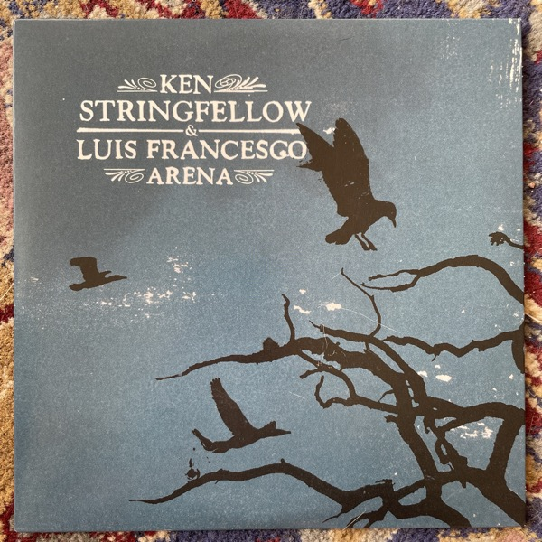 """KEN STRINGFELLOW / LUIS FRANCESCO ARENA Waterlilies And Creatures / The Lover's Hymn ( Rock On Fiat Lux - France original) (EX) 7"""""""