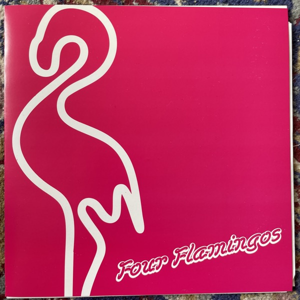 "FOUR FLAMINGOS Mad Evil Woman (Pink vinyl) (Bootleg Booze - Sweden original) (EX) 7"""