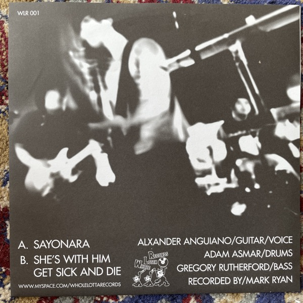 "MAASTER GAIDEN Sayonara (Whole Lotta - Sweden original) (EX) 7"""