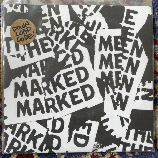 "MARKED MEN, the / THIS IS MY FIST Split (Tan vinyl) (No Idea - USA 2nd press) (EX) 7"""