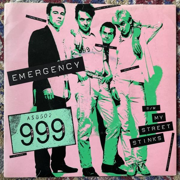 "999 Emergency (United Artists - UK original) (VG) 7"""
