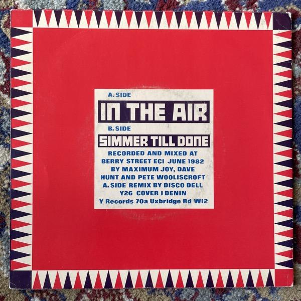 """MAXIMUM JOY In The Air (Y - UK original) (VG+) 7"""""""