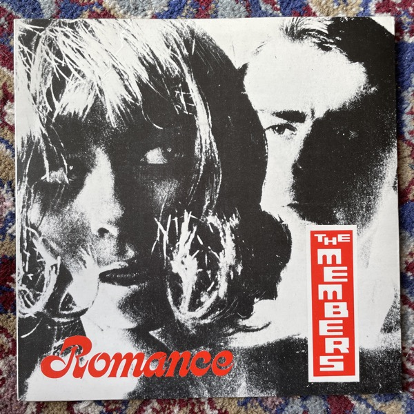 "MEMBERS, the Romance (Virgin - UK original) (VG+) 7"""