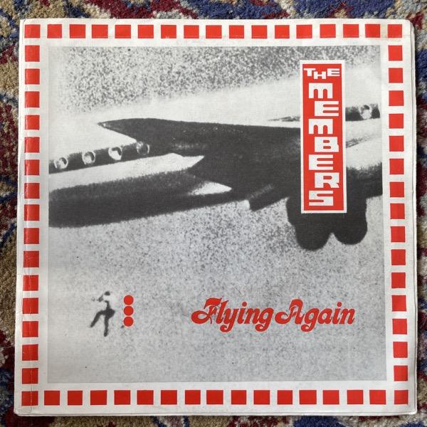 "MEMBERS, the Flying Again (Virgin - UK original) (VG) 7"""