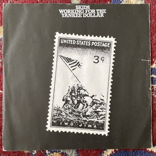"SKIDS Working For The Yankee Dollar (Virgin - UK original) (VG) 7"""
