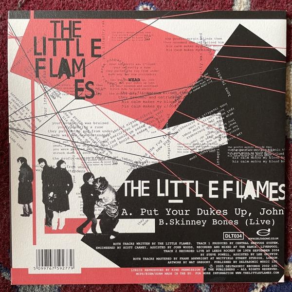 """LITTLE FLAMES, the Put Your Dukes Up, John (Deltasonic - UK original) (EX/VG+) 7"""""""