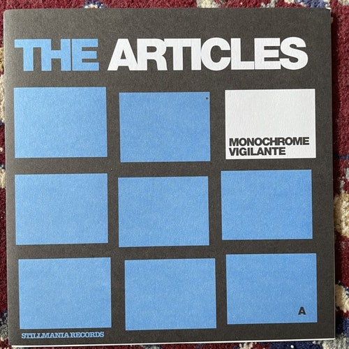 "ARTICLES, the Monochrome Vigilante (Stillmania - UK original) (EX/VG+) 7"""
