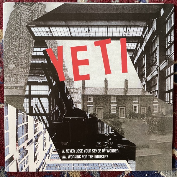 "YETI Never Lose Your Sense Of Wonder (Moshi Moshi - UK original) (EX) 7"""