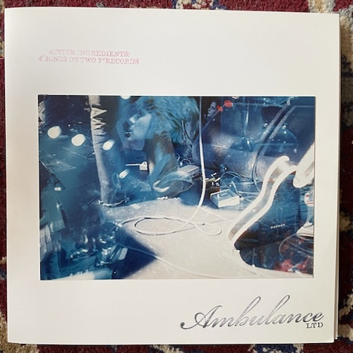 """AMBULANCE LTD Active Ingredients: 4 Songs On Two 7"""" Records (TVT - UK original) (EX) 2x7"""""""