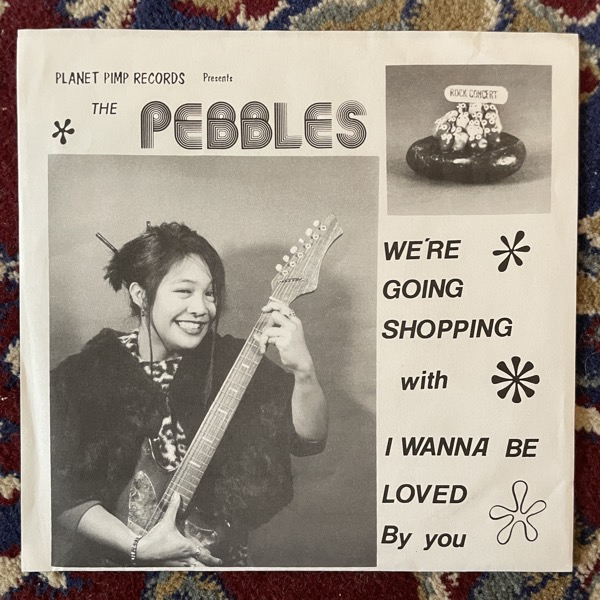 """PEBBLES, the I Wanna Be Loved By You (Planet Pimp - USA original) (VG+) 7"""""""