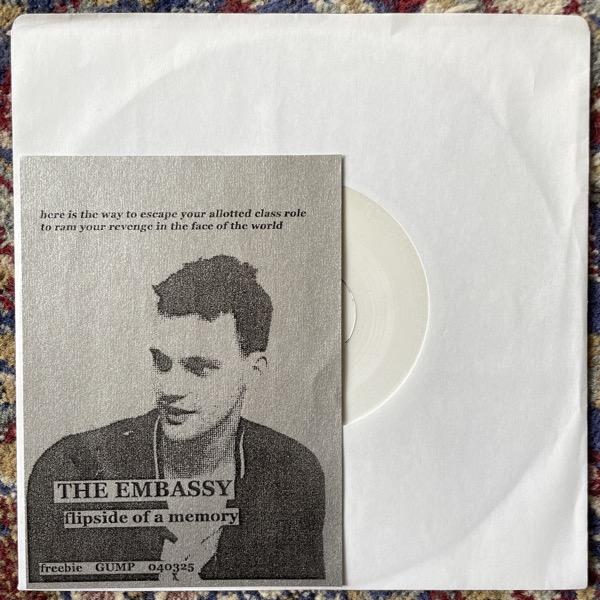 "EMBASSY, the Flipside Of A Memory (Self released - Sweden original) (VG+) 7"""