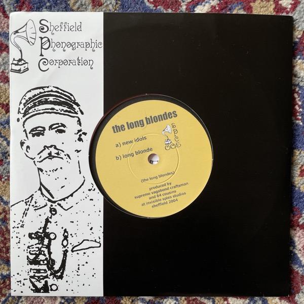 "LONG BLONDES, the New Idols (Pink vinyl) (Thee Sheffield Phonographic Corporation - UK original) (VG+/EX) 7"""