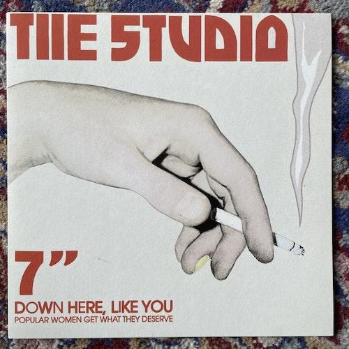 "STUDIO Down Here Like You (Service - Sweden original) (NM/EX) 7"""