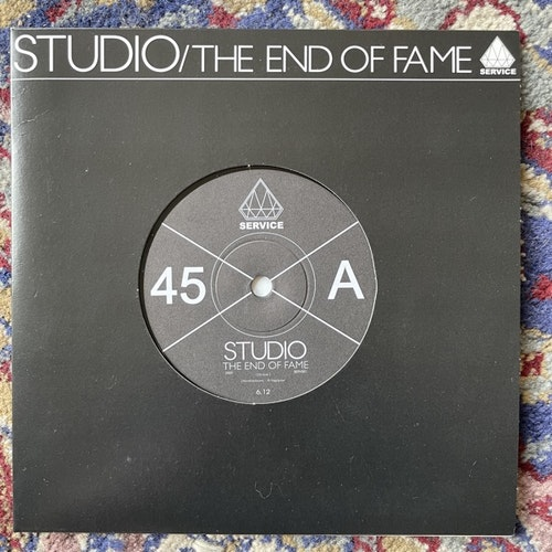 """STUDIO The End Of Fame (Service - Sweden original) (VG+) 7"""""""