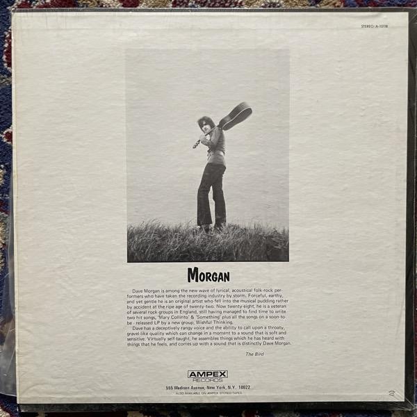 DAVE MORGAN Morgan (Ampex - USA original) (EX/VG) LP
