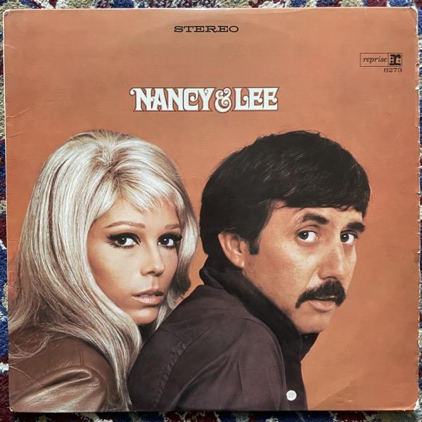 NANCY SINATRA & LEE HAZLEWOOD Nancy & Lee (Reprise - Germany original) (VG+/VG-) LP