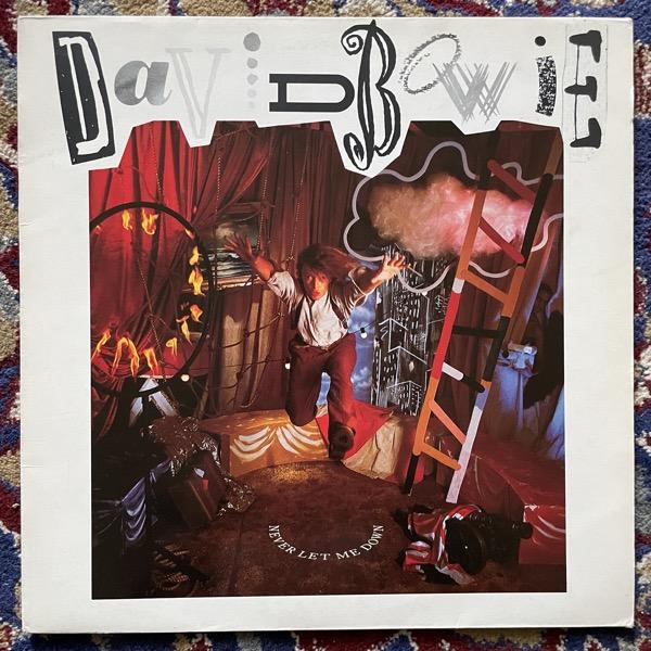 DAVID BOWIE Never Let Me Down (EMI - UK original) (VG+/VG) LP