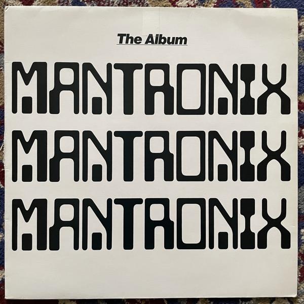 MANTRONIX The Album (10 - UK original) (VG/VG-) LP