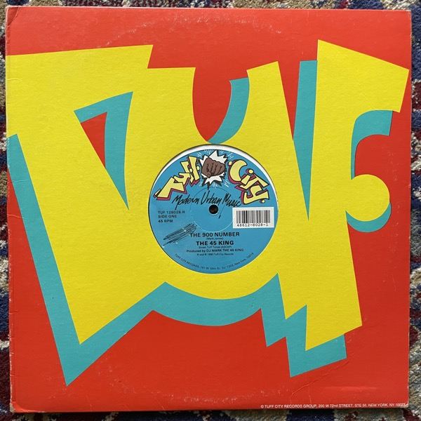 """45 KING, the The 900 Number (Tuff City - USA original) (VG) 12"""""""
