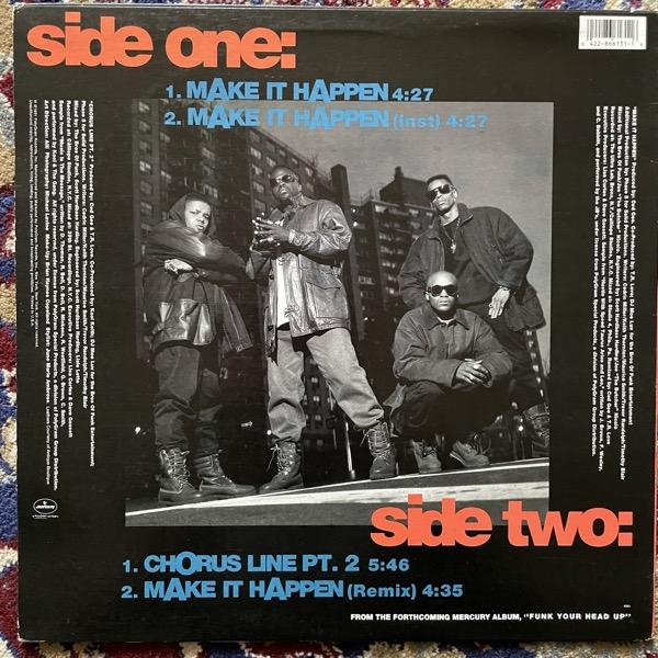 "ULTRAMAGNETIC MC'S Make It Happen (Promo) (Mercury - USA original) (VG+/VG) 12"""