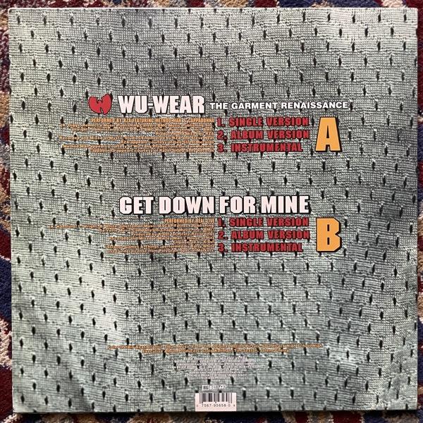 "RZA FEAT. METHOD MAN & CAPPADONNA Wu-Wear: The Garment Renaissance (Big Beat - USA original) (VG+) 12"""