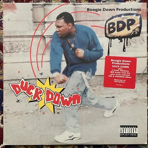 "BOOGIE DOWN PRODUCTIONS Duck Down (Jive - USA original) (VG+) 12"""