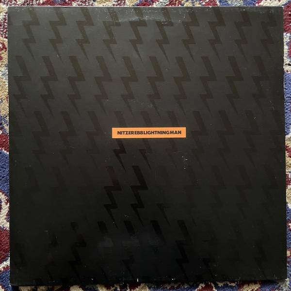 "NITZER EBB Lightning Man/Remixes (Mute - UK original) (VG+/EX) 12"""