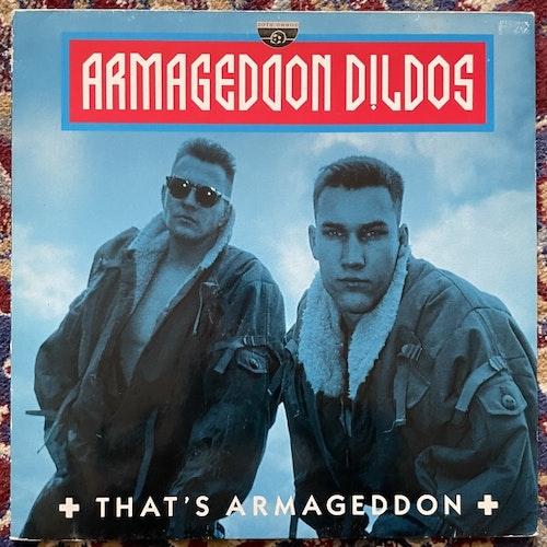 ARMAGEDDON DILDOS That's Armageddon (Zoth Ommog - Germany original) (VG+) LP