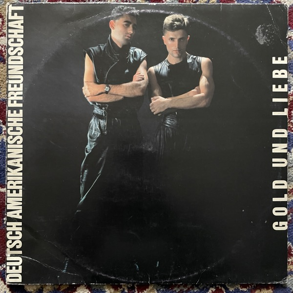 DAF (DEUTSCH AMERIKANISCHE FREUNDSCHAFT) Gold Und Liebe (Virgin - Finland original) (VG-/VG) LP