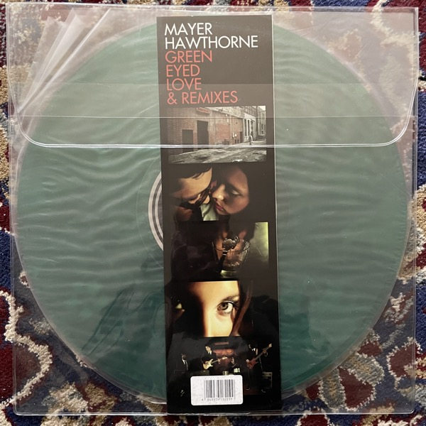 "MAYER HAWTHORNE Green Eyed Love & Remixes (Green vinyl) (Stones Throw - USA original) (VG+/EX) 12"""