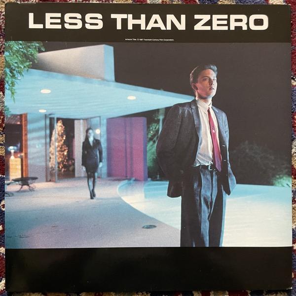 SOUNDTRACK Various – Less Than Zero (Def Jam - Canada original) (EX) LP