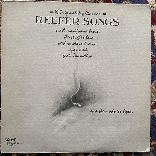 VARIOUS Reefer Songs: 16 Original Jazz Classics (Stash - USA original) (VG+/EX) LP