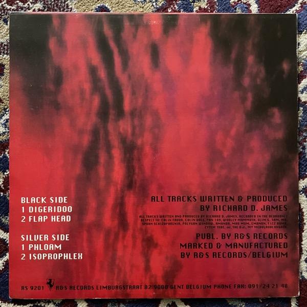 """APHEX TWIN Digeridoo (R & S - Belgium original) (VG+/VG) 12"""""""