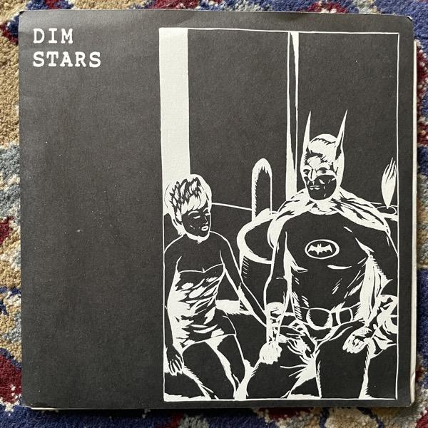 """DIM STARS Dim Stars E.P. (Ecstatic Peace! - USA original) (VG+/EX) 3x7"""""""
