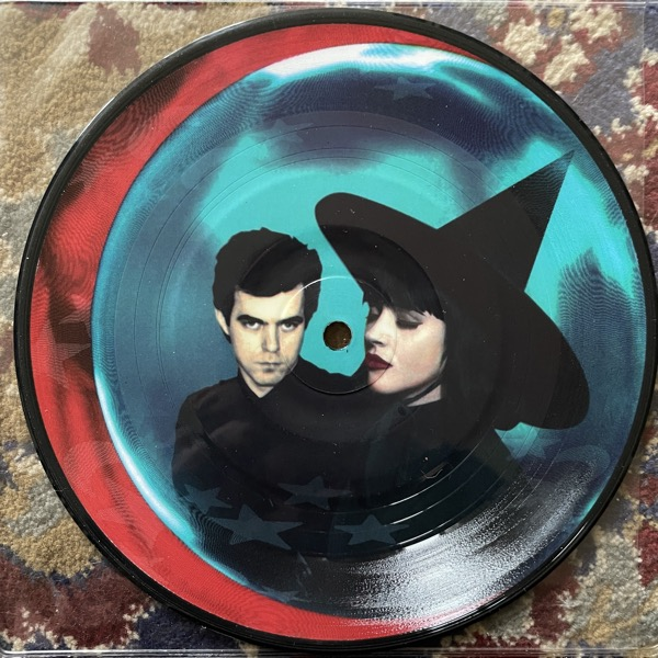 """BOYD RICE & ROSE MCDOWALL Johnny Remember Me ( Sympathy For The Record Industry - USA original) (EX) PIC 7"""""""