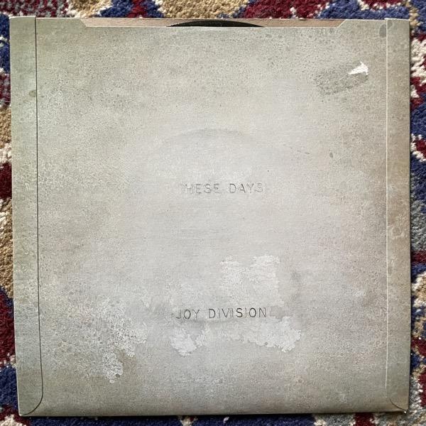 "JOY DIVISION Love Will Tear Us Apart (Factory - UK original) (VG+) 7"""