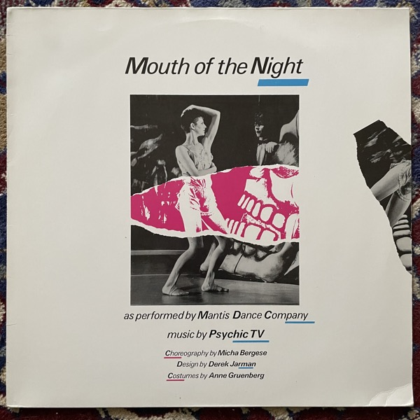 PSYCHIC TV Mouth Of The Night (Temple - UK original) (VG+/EX) LP