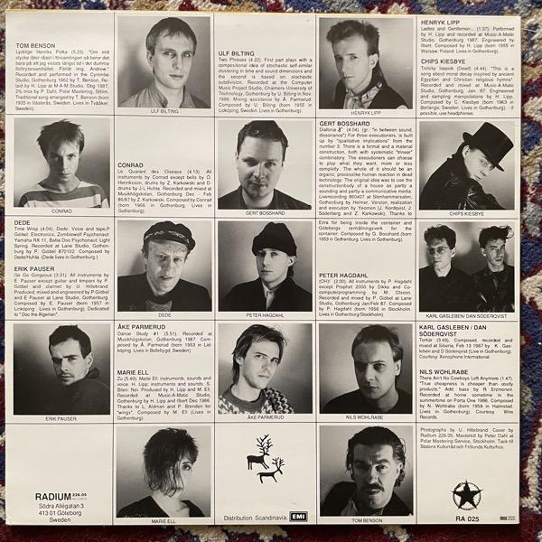 VARIOUS Gothenburg 86/87 (Radium 226.05 - Sweden original) (EX) LP