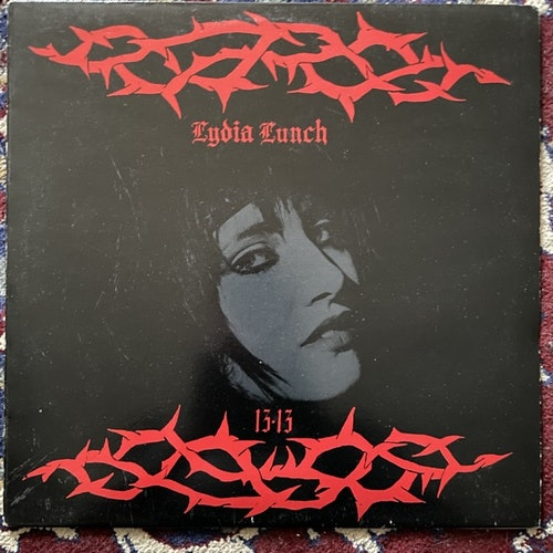 LYDIA LUNCH 13.13 (Situation Two - UK original) (VG+) LP