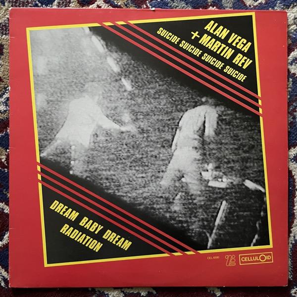 "SUICIDE Dream Baby Dream / Radiation (Celluloid - France original) (VG+) 12"""